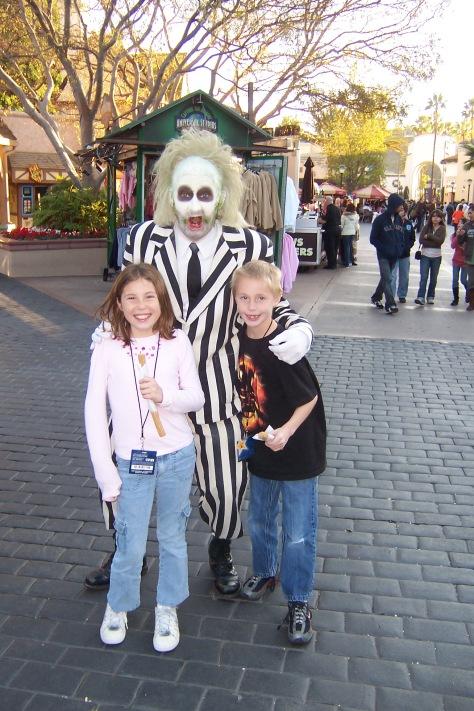 Beetlejuice Universal Studios Hollywood 2007