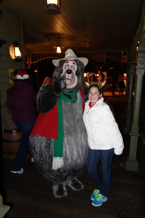 Big Al at Mickey's Very Merry Christmas Party 2012