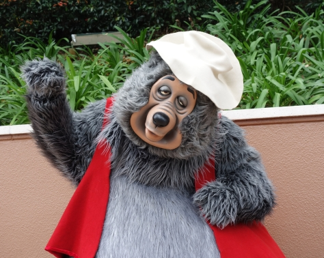 Big Al in Epcot's World Showplace 2013