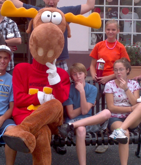 Bullwinkle Universal Studios Orlando 2011