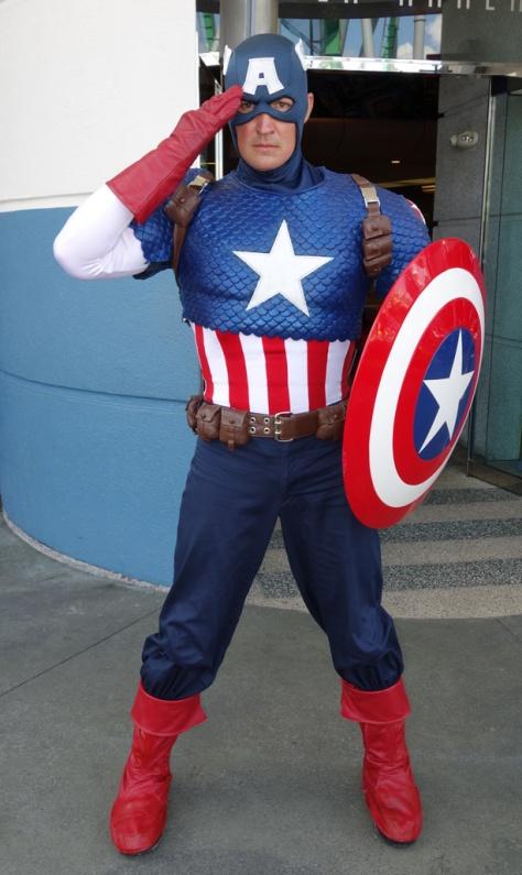 Captain America at Universal Islands of Adventure 2012