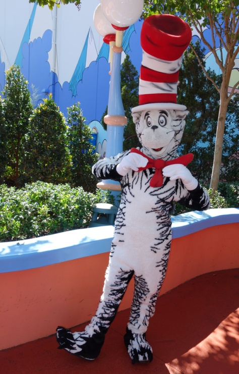 Cat in the Hat Islands of Adventure 2012