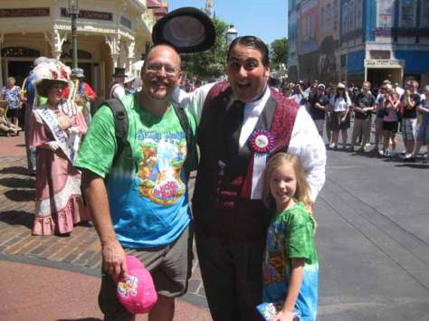 We met Dewey on Main St April 2012