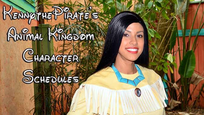 Disney World Animal Kingdom Character Schedule, How to meet characters at Disney World Animal Kingdom