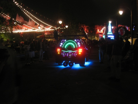 DJ from Cars in Cars Land at California Adventure 2012