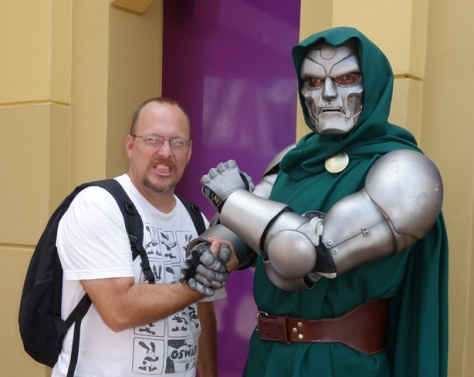 Dr. Doom Universal Islands of Adventure 2012