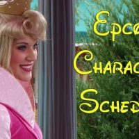 EPCOT Character Schedule