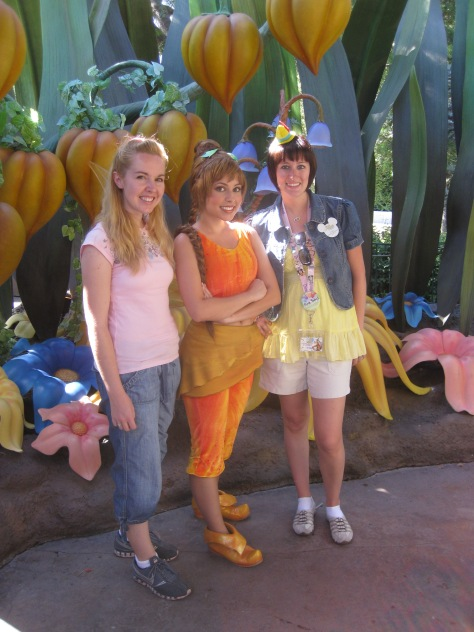 Fawn in Disneyland 2009