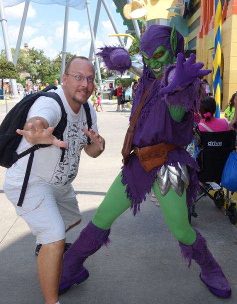 Green Goblin at Universal Islands of Adventure 2012