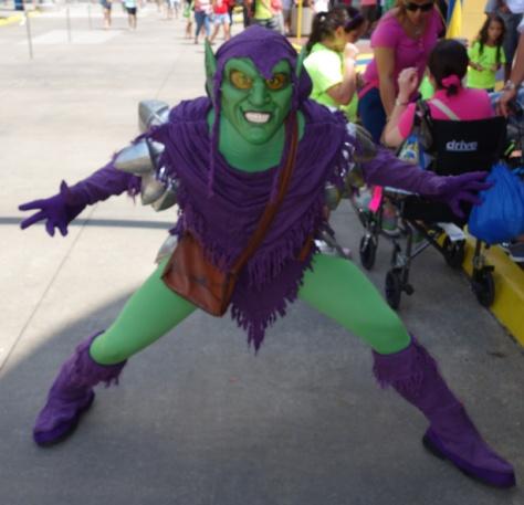Green Goblin at Universal Islands of Adventure 2012