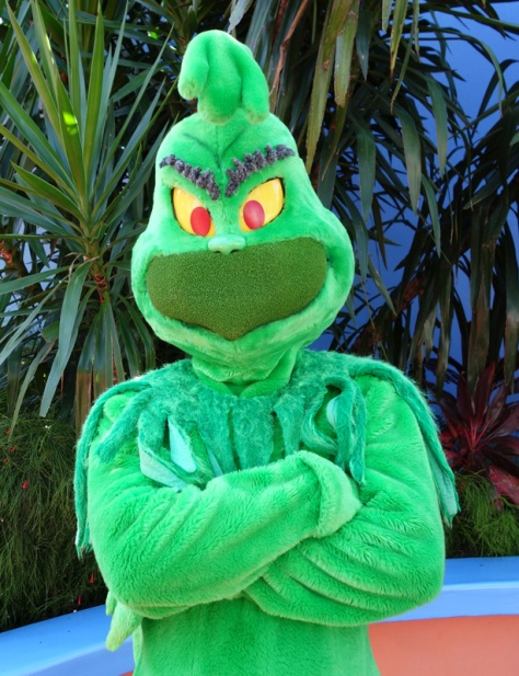 Grinch at Universal Islands of Adventure 2012