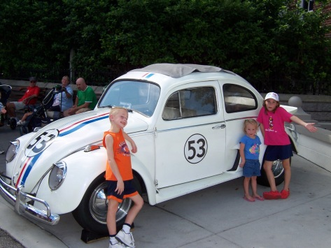 We met Herbie at Hollywood Studios 2006