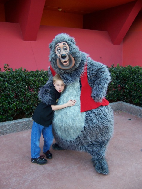 Big Al at Epcot 2006