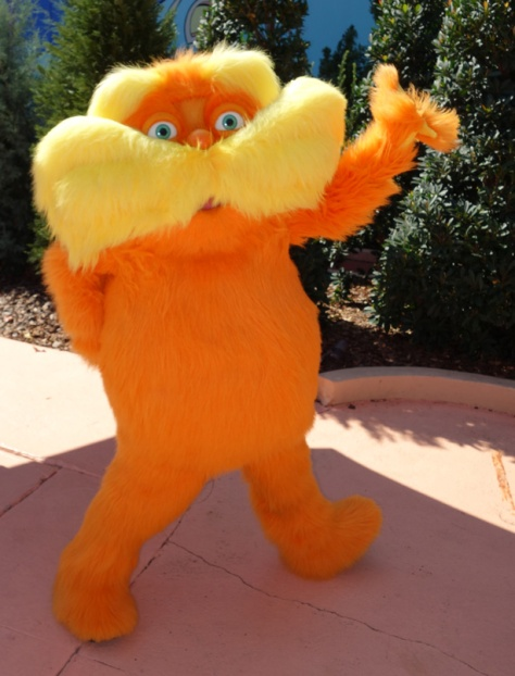 Lorax Univesal Islands of Adventure 2012
