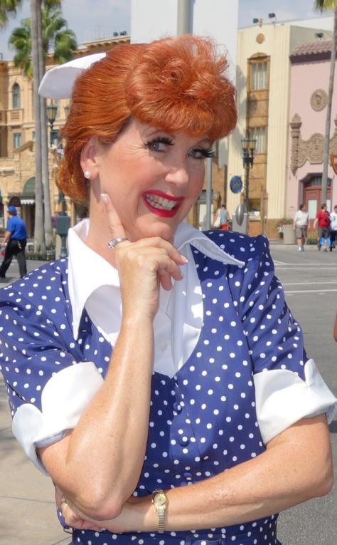Lucy Ricardo Universal Studios 2012