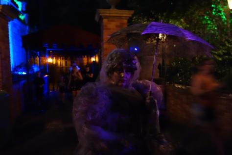 Madame Rinata at Mickey's Not So Scary Halloween Party 2012