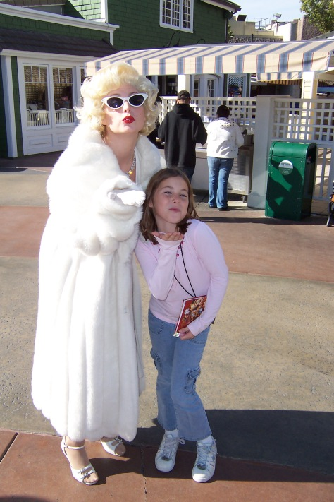 Marilyn Monroe Universal Studios Hollywood 2007