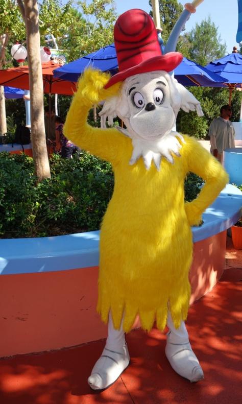Sam I Am Universal Studios 2012