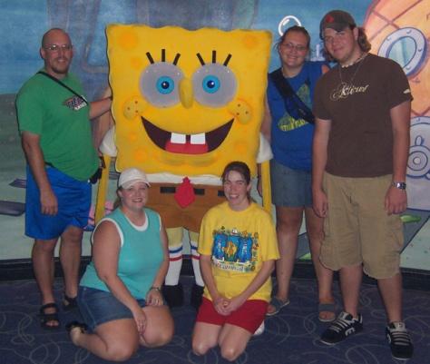 Spongebob Squarepants Universal Studios 2004