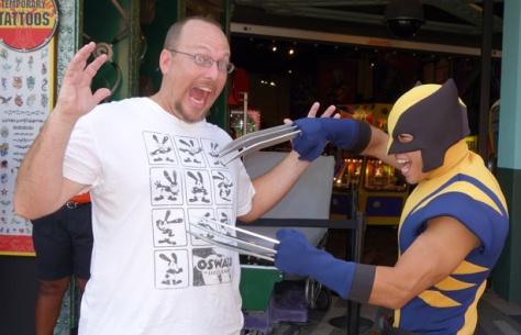 Wolverine XMen Universal Islands of Adventure 2012