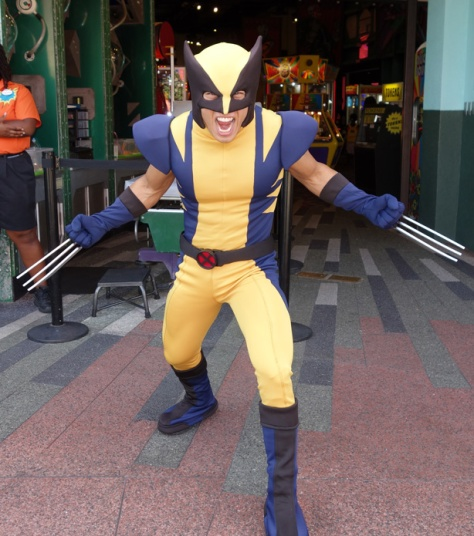 Wolverine XMen Universal Islands of Adventure 2012