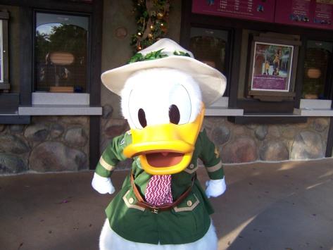 Donald Duck Animal Kingdom 2006