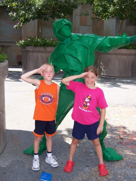 Green Army Man Hollywood Studios 2006