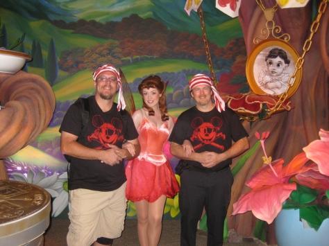 Rosetta in Magic Kingdom 2010