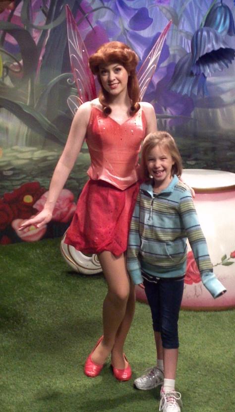 Rosetta in Magic Kingdom 2011