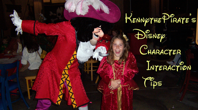 Walt Disney world character interaction tips
