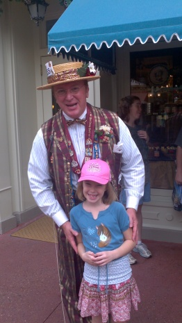 We met Scoop in the Magic Kingdom 2011