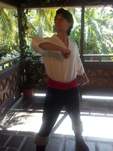 Eric in Magic Kingdom 2012