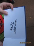 48 Buzz Lightyears Autograph