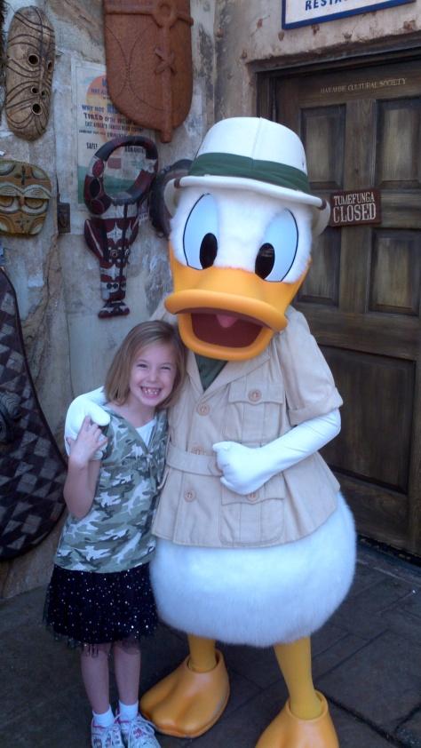 Donald Duck Animal Kingdom 2011