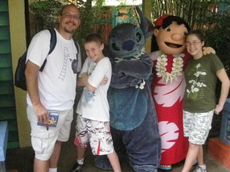 Lilo and Stitch at Animal Kingdom 2010