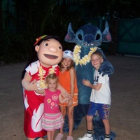 Lilo and Stitch in Animal Kingdom