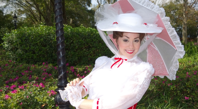 Limited Time Magic:  Bert to join Mary Poppins at Epcot, but NO Nanny Poppins