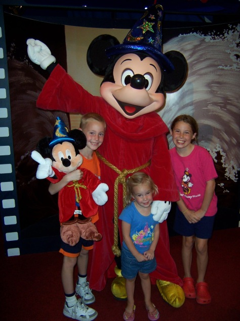 Sorcerer Apprentice Mickey Hollywood Studios 2006