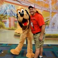 Pluto at Epcot Character Spot
