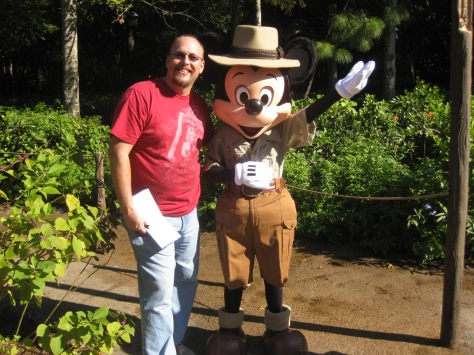 Mickey Mouse in Animal Kingdom 2010