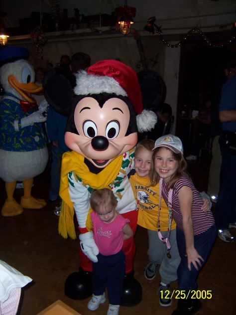 Mickey Mouse in Animal Kingdom 2005