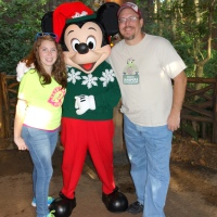 Mickey Mouse in Animal Kingdom