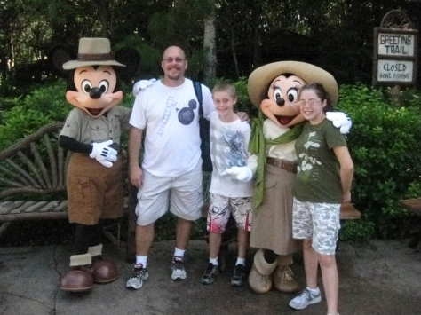 Mickey Mouse in Animal Kingdom 2010 Tusker House