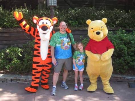 Tigger and Pooh Splash Mountain Exit 2012