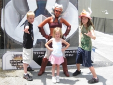 Walt Disney World, Hollywood Studios, Star Wars Weekends Characters, Ahsoka Tano