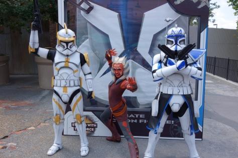Ahsoka Tano Commander Cody Captain Rex Star Wars Weekends 2013