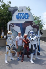 Ahsoka Tano Commander Cody Captain Rex Star Wars Weekends 2013