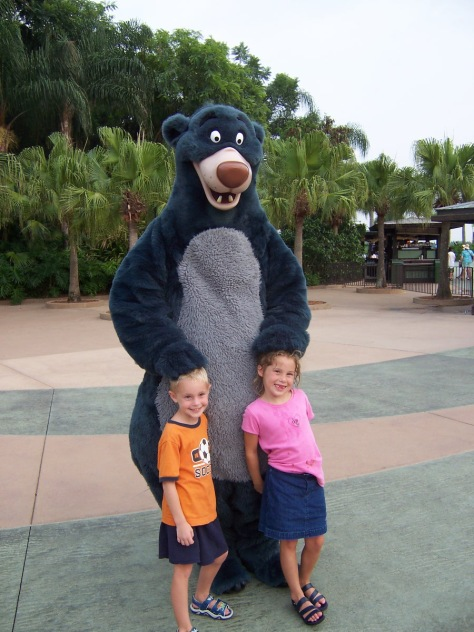 Baloo Animal Kingom 2004