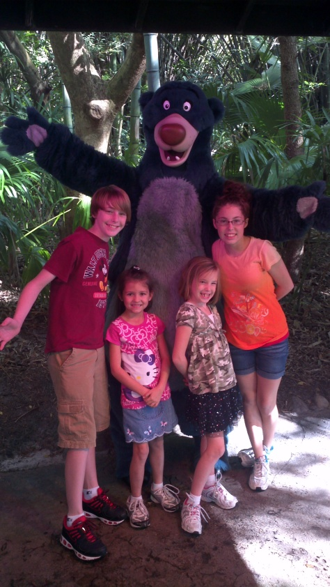 Baloo Animal Kingdom 2011