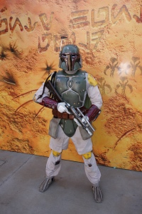 Boba Fett Star Wars Weekends 2013 - Bad guy bounty hunter